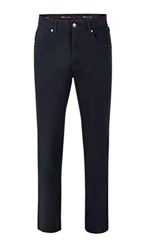 Brühl - Comfort Fit - Herren 5 Pocket Jeans Hose, York (0755183830100), Größe:32, Farbe:Marine (680)