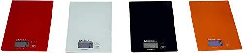 Maxell Power CE BASCULA DE Cocina Digital Precision BALANZA Base Cristal LCD LED 1G-5KG Gramos GRAMO (Negro)