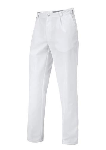 BP 1359-558-21-54n Hose für Männer, mit Bundfalten und Taschen, 245,00 g/m² Stoffmischung, weiß ,54n
