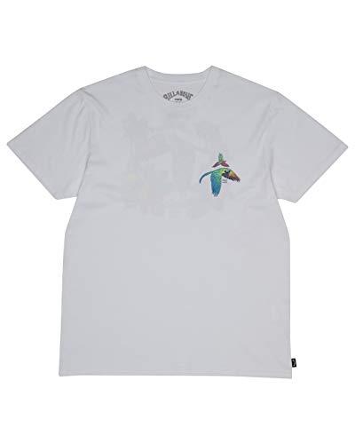 BILLABONG T-Shirt Parrot Bay Tee SS White XL