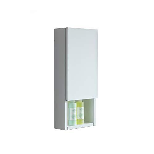 HSRG Europese aluminium legering badkamer meubels badkamer kast combinatie 1-deurs 3-Shelf badkamer opbergkast