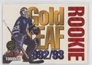 Felix Potvin (Hockey Card) 1993-94 Leaf - Gold Leaf Rookie #4