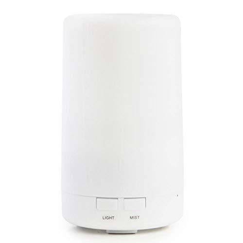 アロマディフューザー SILO 6畳タイプ 超音波 静音 卓上 ライト 間接照明 寝室 タイマー おしゃれ かわいい