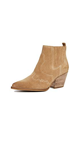 Sam Edelman Women's Winona Ankle Boot, Camel, 9.5 Medium US