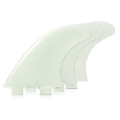 Lixada Surfboard Fin Set 3PCS/2PCS FCS Thruster Glasfaser Nylon Brandungslamellen GL/GX/M5/G5