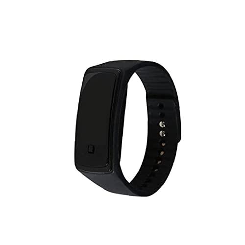 Mens Mujeres Digital Reloj Deportivo a Prueba de Agua LED electrónico del Reloj del Deporte, Diseñado para Ahorrar energía, Negro