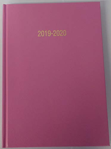 2019-2020 Academic year Mid 18 month diary BLACK A5 one week to view appointment