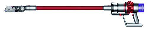 Dyson Cyclone V10 Motorhead Aspirateur Balai sans Fil et sans Sac, Nickel, Rouge