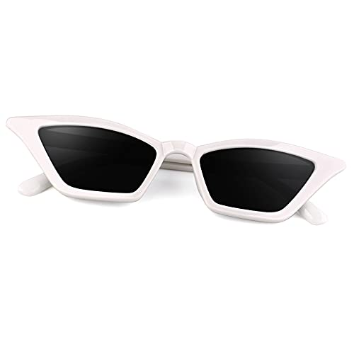 GQUEEN Occhiali da Sole Donna Polarizzati Gatto Protezione UV Occhiali da Sole Kurt Cobain,GQS8