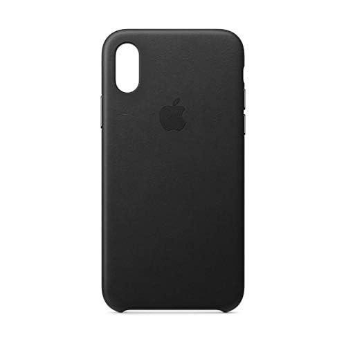 Apple Custodia in pelle (per iPhoneXS) - Nero