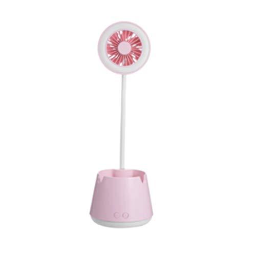 DYXYH SQDDM Escritorio LED Lámpara Titular de la Pluma de la lámpara Estudio Girl Child Study Boy Protección de los Ojos de la lámpara lámpara de Escritorio for Office Lectura Trabajo (Color : Pink)