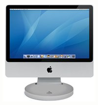 Rain Design i360 Drehfuß für Apple iMac (54,6 cm (21,5 Zoll), drehbar: 360 Grad, Cinema Display)