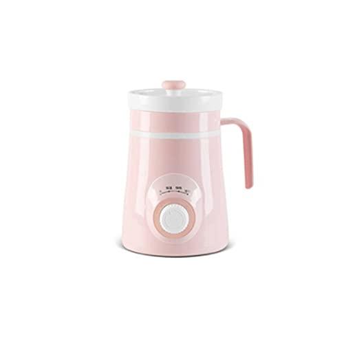 Lazxcnvb g pots - Juego de sartenes de cerámica, taza de sopa pequeña para una persona, olla eléctrica automática para el hogar, (21 x 11 cm)