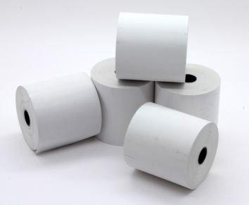 Rollos de papel térmico para caja registradora, 57 x 57 mm, 20 rollos por caja