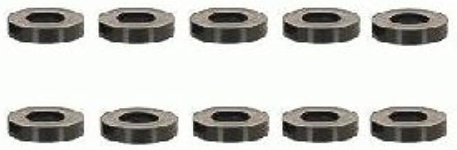 100 Stk. Länge 10mm Kunststoff schwarz Distanzhülsen für M8 Schrauben
