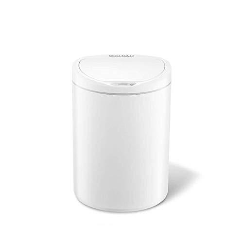 Heqianqian Intelligenter induktiver Abfalleimer, 8 l, für Zuhause oder am Arbeitsplatz, der leicht, strapazierfähig und einfach zu reinigen ist.