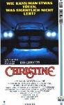 Christine [VHS]