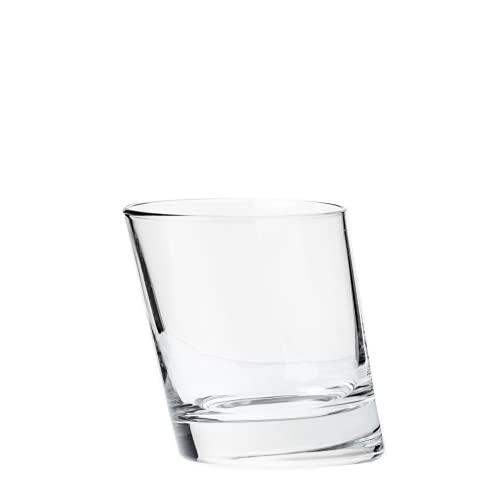 Borgonovo Pisa Juego de 6 Vasos de Vidrio, 280 ml