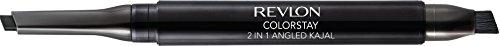 Revlon ColorStay 2-in-1 Angled Kajal Waterproof Eyeliner, Graphite