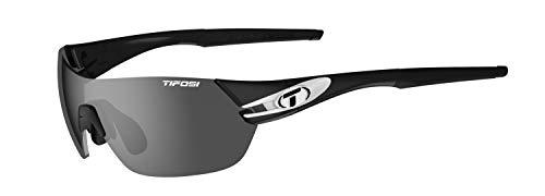 Tifosi Unisex Slice Sonnenbrille Eyewear, schwarz/weiß, S bis M