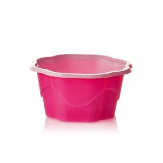 100menstrual en plástico rosa Tamaño: 4,7h cm ø8,9 Capacidad: 170cc Otros tamaños a petición–posibilidad de tapa