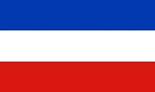 U24 Fahne Flagge Schleswig-Holstein ohne Wappen 150 x 250 cm