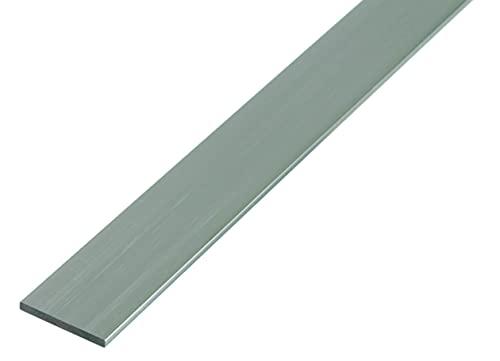 GAH-Alberts 488178 Perfil Lleno Plano, Aluminio, 50 x 3 mm / 1 m