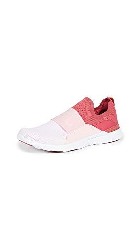 APL: Athletic Propulsion Labs Women's Techloom Bliss Sneakers, Apple/Cupcake/Pink Linen, 8.5 Medium US