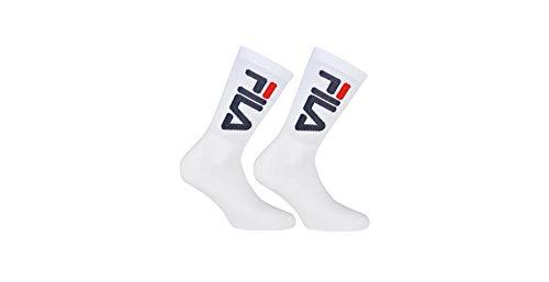 Fila 2 Pack Urban Collection Socks White, tamaño:35-38