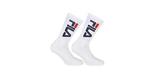 Fila 2 Pack Urban Collection Socks White, tamaño:35-38