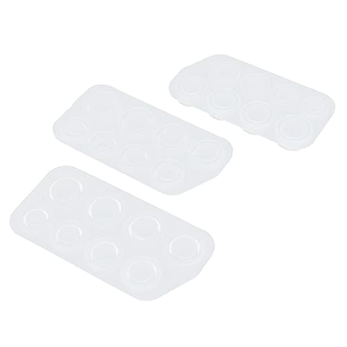 Lantuqib Moldes de Silicona, Kit de fabricación de Anillos de Resina Grueso para Resina epoxi