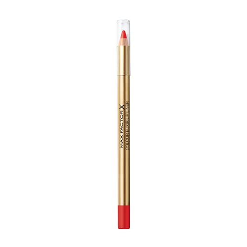 Max Factor, Colour Elixir Lip Liner, Matita Labbra Lunga Durata, Colore Intenso, 60 Red Ruby