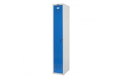 Kleiderspind blau Umkleideschrank Personalschrank Spind Metall Büro Schrank