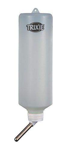 Trixie Kleintiertränke, Trinkflasche – 600 ml für z.B. Kaninchen, diverse Farben - 4