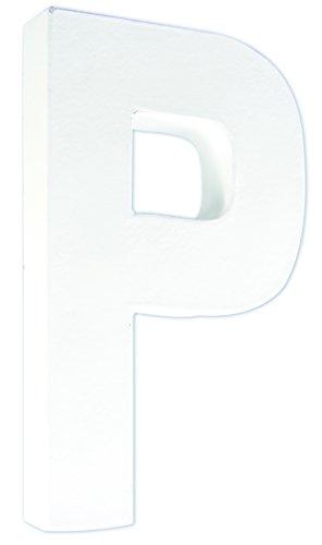 Decopatch–Letra P–Color Blanco
