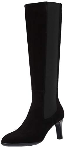 Aquatalia Women's Tall Fashion Boot, Black, 7.5