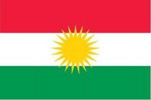 Flagge Fahne Kurdistan 90x150cm