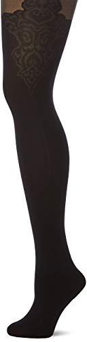 Fiore Damen Feinstrumpfhose Gladis/Golden Line Classic-G5595 Strumpfhose, 40 DEN, Schwarz (Black 001), Medium (Herstellergröße:3)