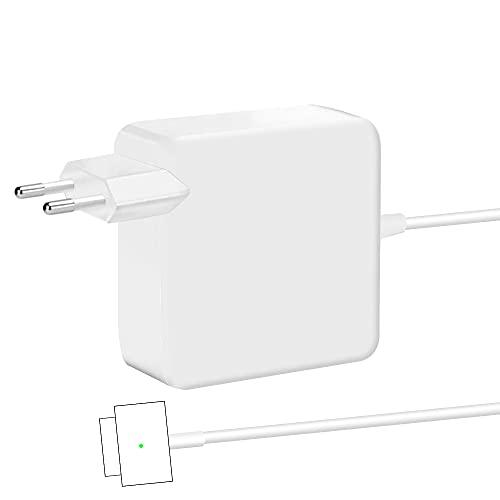 Compatible con Mac Book Pro Charger, Adaptador de Corriente 45W / 60W T-Tip Conector Magnético Cargador, Adecuado para A1425 A1435 1502 Mac Book Pro 13 Retina (2013 2014, principios de 2015)