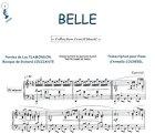Partition : Belle - Piano et paroles