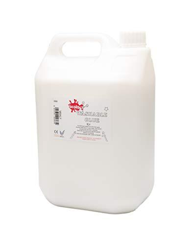 Scola WG5LT 5ltr Washable PVA Glue - Eco - 5 Litre Craft Glue School Glue