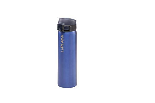 LaPlaya Trinkflasche New Bubble Safe, blau, M