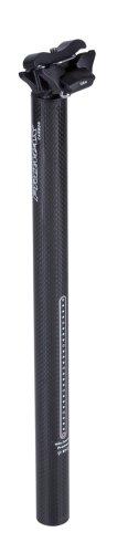 Promax Carbon-Sattelstütze, black, 400 mm