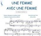 Partition : Une femme avec une femme - Piano et Paroles