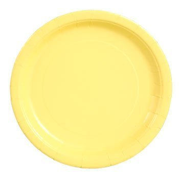 Party Color Paper Plates Yellow 9 40 Count by Party!