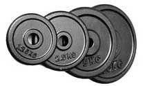 POWER EXTREME Hantelscheiben, guss, 31mm (0,5kg)