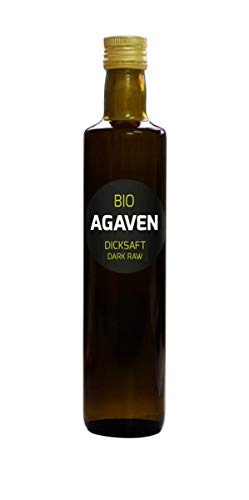 Hanoju Bio Agavendicksaft Dark Raw, 500 ml , Agavensirup