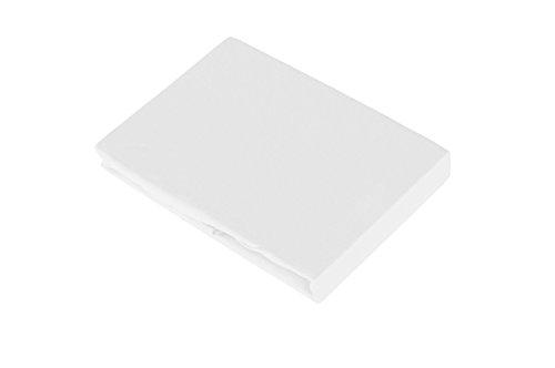 Hoeslaken 90-100x200 cm wit
