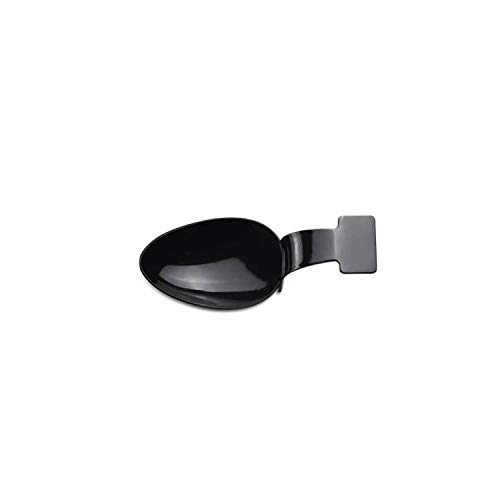 Cuchara Plastico Degustacion Negra - 100 unidades