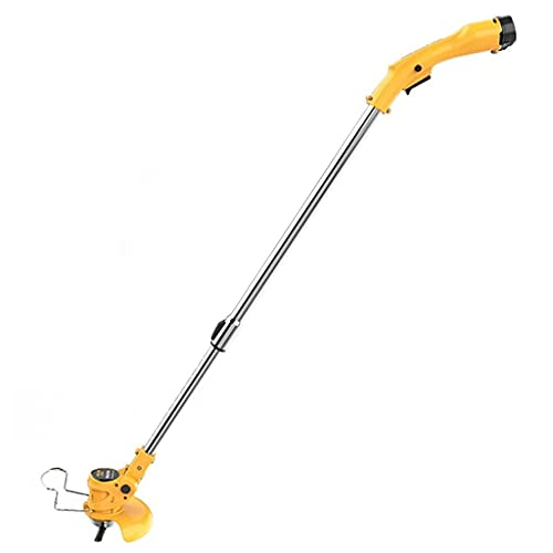 HYLK Cortacésped eléctrico de Litio inalámbrico SHSM,pequeño, Recargable,para el jardín,Puerta Delantera, cortacésped,...